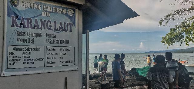 Karang Laut, Berhasil Tingkatkan Ekonomi Nelayan di Masa Pandemi