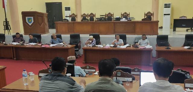 Pansus DPRD Bolmong Pacu Pembahasan LPKJ Bupati TA 2020