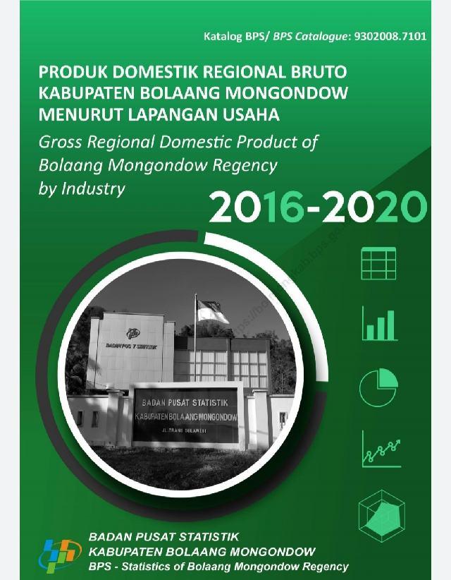 Gratis, Unduh Buku Produk Domestik Regional Bruto Kabupaten Bolmong di Sini