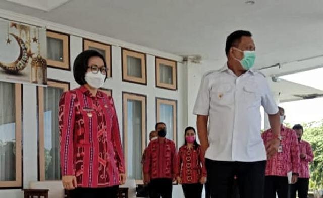 Yasti Terima Kunjungan Kerja Gubernur Sulut Dalam Rangka Pemantauan Pos Terpadu Lebaran 2021