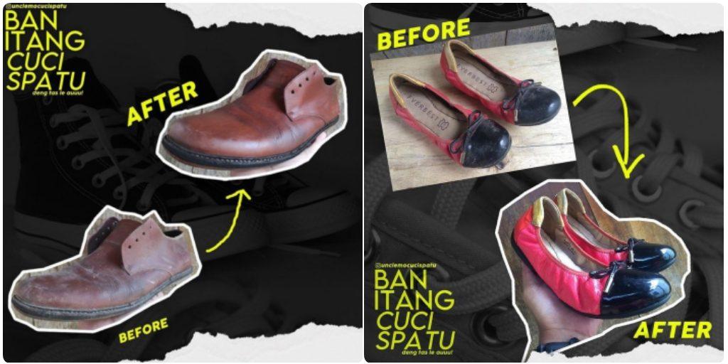 Ban Itang Cuci Sepatu