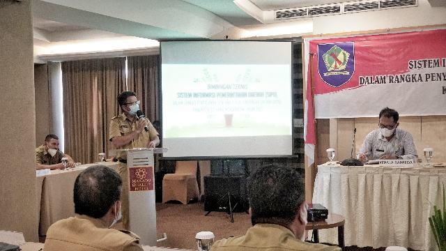 Pemkab Bersama DPRD Bolmong Ikuti Bimtek SIPD
