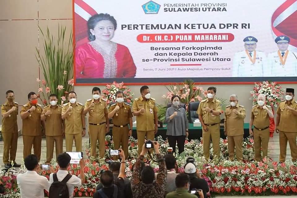 Pertemuan Forkopimda Bersama Ketua DPR RI