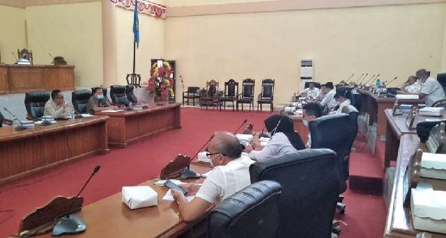 Bapemperda DPRD Bolmong Bahas Dua Usulan Ranperda