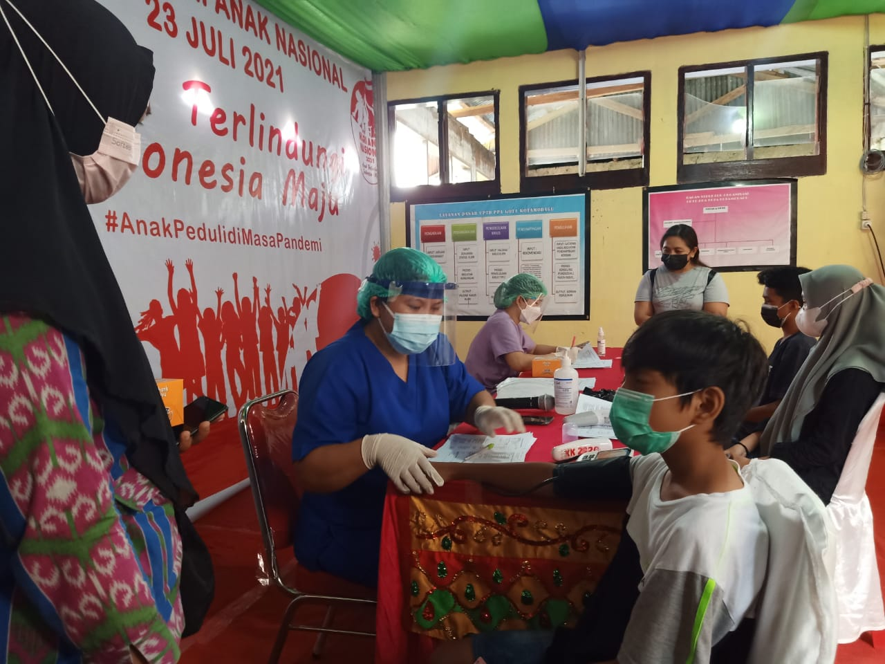 Vaksinasi Untuk Anak