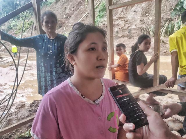 Kesaksian Korban Longsor Komangaan, Wirna : Kami Segera Mengungsi Ketika Kerikil Mulai Longsor