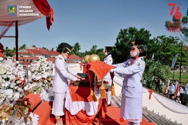 Di Tengah Pandemi, Pemkab Bolmong Sukses Gelar Rangkaian Peringatan HUT Kemerdekaan RI Ke-76