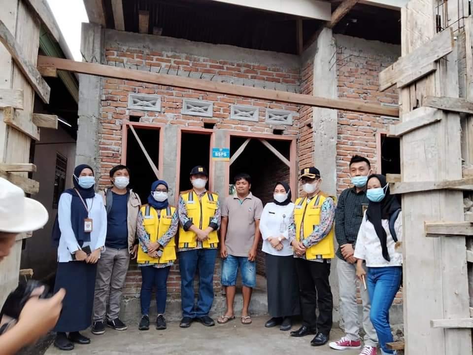 Rumah Yang Dibangun Lewat BSPS