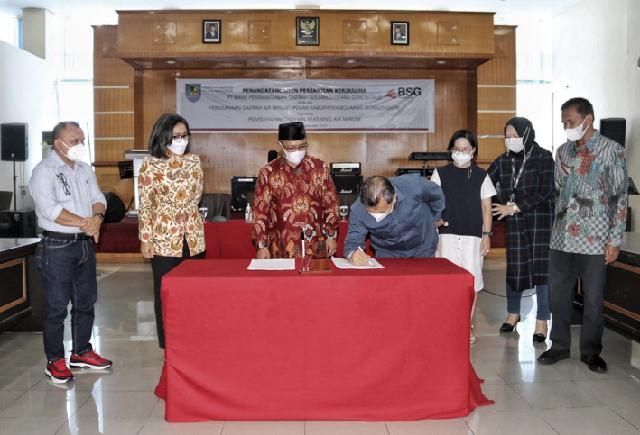 Yasti Instruksikan Tingkatkan Pelayanan, PDAM Bolmong Jalin Kemitraan Bersama BSG