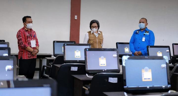 Buka SKD CPNS, Yasti Berpesan Agar Peserta Fokus Menjawab Soal Ujian