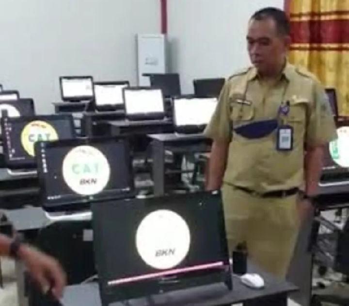 Jaringan Internet Down Jelang SKD CPNS, Diskominfo Bolmong Turun Lakukan Pengecekan
