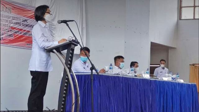 Yasti Resmi Membuka Latsar CPNS Bolmong
