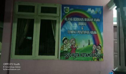 Pertama di Sulut, RSUD Kotamobagu Siapkan Tempat Penitipan Anak