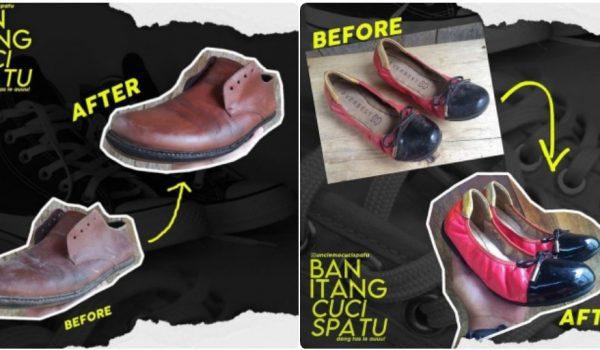 Ban Itang Cuci Sepatu Tawarkan Jasa Antar Jemput Untuk Konsumen