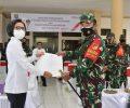 Terima Kunjungan Korem 131/ST, Gebrak Masker Hingga Kemudikan Damkar, Yasti Selesaikan Tiga Agenda