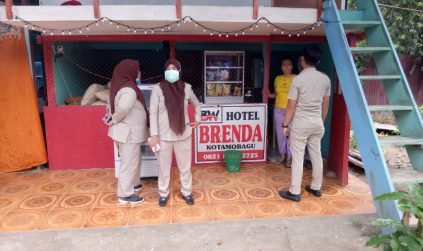 Cegah Covid-19, Disbudpar Kotamobagu Susuri Hotel dan Restaurant