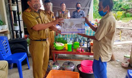 BPBD Distribusikan Bantuan Untuk Korban Banjir dan Longsor di Kecamatan Sangtombolang