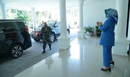 Bangun Sinergitas, Wali Kota Terima Kunjungan Dandim 1303 Bolmong