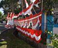 HUT Kemerdekaan RI ke 75 Bawa Berkah Bagi Pedagang Bendera