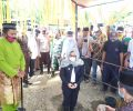 Yasti Meletakkan Batu Pertama Pembangunan Masjid Al-Hidayah