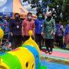 Diresmikan Wali Kota, Kotamobagu Miliki Taman Bermain Ramah Anak di Lapangan