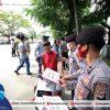Masuk Kabupaten Bolsel Wajib Gunakan Masker