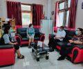 Ajak Sukseskan Pilkada, Wawali Nayodo Silaturahmi ke Ketua Sinode GMIBM
