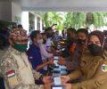 Hadiri Gerakan Sejuta Masker, Wali Kota Tatong Bara Tegaskan Pelanggar Prokes Akan Ditindak
