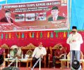 Herson Mayulu Bersama Wabup Dedy Abdul Hamid Resmikan Program KotaKu di Desa Ilomata
