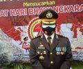 Upacara HUT Bhayangkara ke 75 di Polres Kotamobagu Sarat Prokes