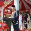 Ketua DPRD Kotamobagu Bacakan Naskah Proklamasi di HUT Kemerdekaan RI ke 76