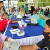Ratusan Karyawan PT PP Proyek Bendungan Lolak Jalani Vaksinasi Tahap II