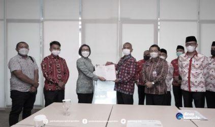 Yasti Hadiri Rapat Penyelesaian Tapal Batas Bolmong-Bolsel Bersama Kemendagri