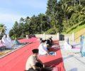 Sarat Prokes, Wali Kota Kotamobagu dan Wawali Lakukan Sholat Ied di Tempat Berbeda