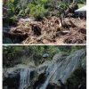 Lenyap, Banjir Bandang Hilangkan Air Terjun Batu Merah