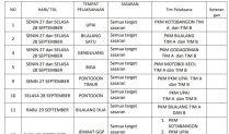Ini 13 Lokasi Vaksin Covid-19 di Kotamobagu Untuk Senin 27 September 2021