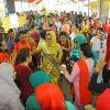 Hadiri Upacara Adat Tulude, Walikota Berbaur Bersama Jemaat GMIBM Solafide Mogolaing