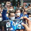 Kepalkan Tangan, Moeldoko Tiba di Lokasi KLB Demokrat