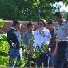 Dipimpin Yasti, Pemkab Bolmong Percantik Kota Lolak Dengan Menanam Bunga
