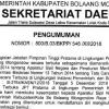 Ini Jabatan Kepala SKPD Yang 'Dilelang' di Kabupaten Bolmong