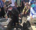 Wawali Kotamobagu Lakukan Peletakan Batu Pertama Pembangunan Masjid Az-Zikra Poyowa Kecil