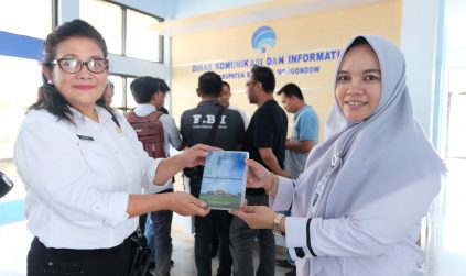 Dinas Kominfo Minut 'Belajar' Pengelolaan Media Massa di Bolmong