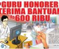 Guru Honorer Akan Dapat BLT Dari Pemerintah