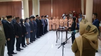 12 Pejabat Eselon  II Kabupaten Bolmong Dilantik