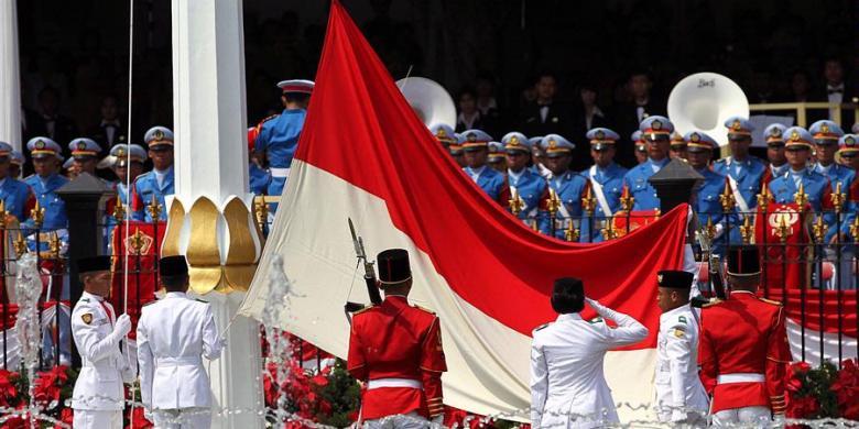 Besok, Duplikat Bendera Merah Putih Disemayamkan di Kantor Bupati Boltim