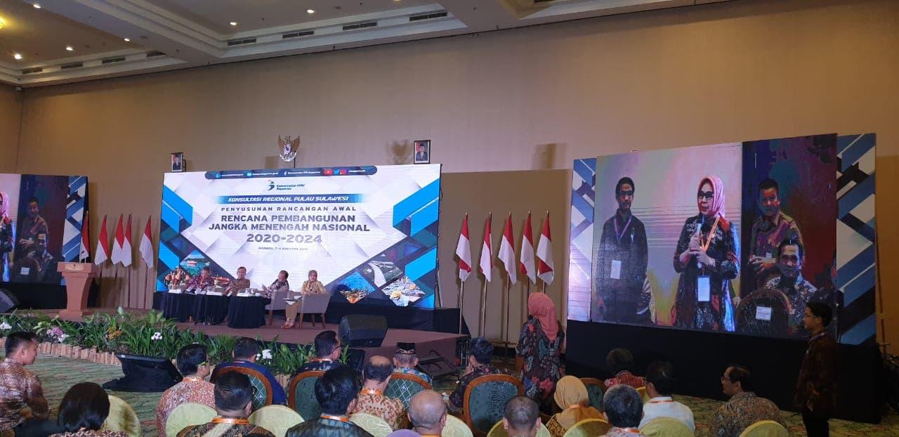 Walikota Suarakan Pembangunan Perguruan Tinggi Negeri Dalam Forum Penyusunan Awal RPJMN
