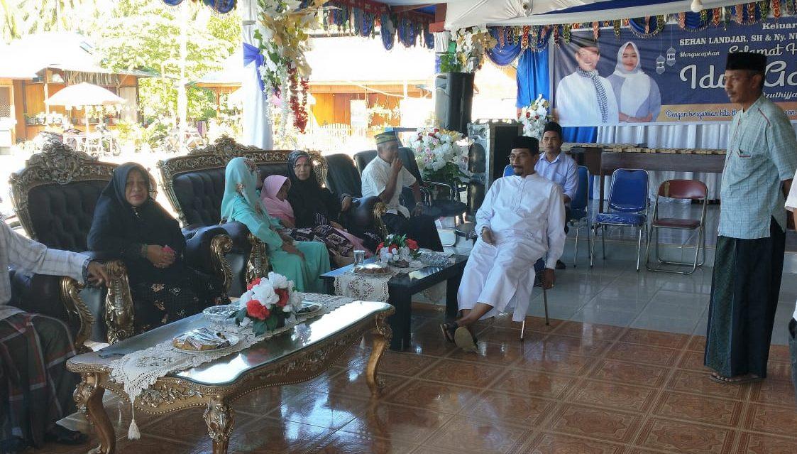 Bupati Boltim Bersama SKPD Sholat Idul Adha di Masjid Nur Jannah Tutuyan
