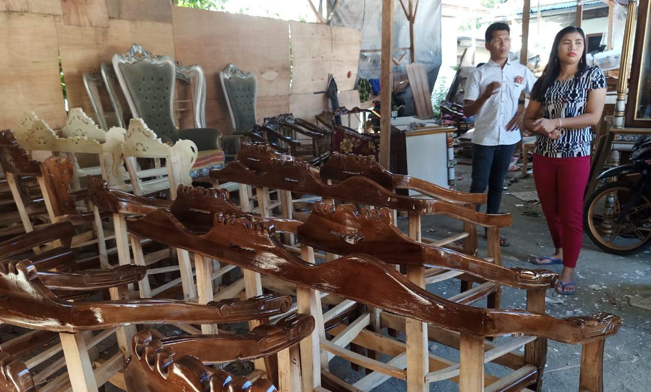 Produksi Meubel UD Shintiya Mampu Rambah Wilayah Luar kotamobagu