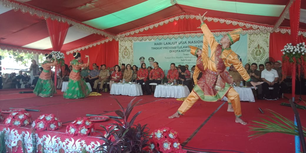 Buat Terkesima Wagub Sulut, Tarian Bindarundak Ternyata Sudah Go Nasional