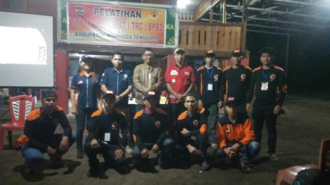 BPBD Bolmong Dipercayakan Jadi Partner Latih TRC Minahasa Tenggara